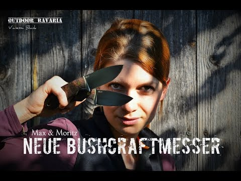 """Handgemacht - Bushcraft-Messer """" Max & Moritz""""  Vanessa Blank - Outdoor Bavaria"""