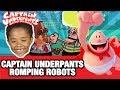 CAPTAIN UNDERPANTS EPIC MOVIE GAMES| ROMPING ROBOTS | KidsToyTube
