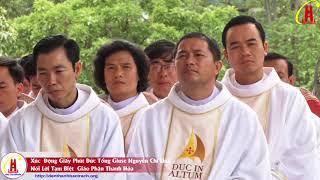 Xúc Động Giây Phút Đức Tổng Giuse Nguyễn Chí Linh Nói Lời Chia Tay Giáo Phận Thanh Hóa