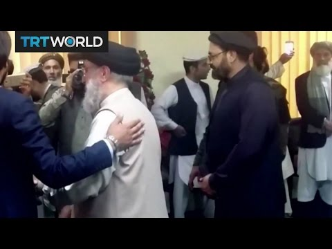 Afghan Warlord Returns: Gulbuddin Hekmakyar greeted by supporters