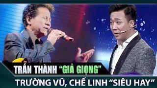 Trấn Thành 'so kèo' giọng hát của Chế Linh - Trường Vũ trong vòng 1 nốt nhạc - Ca Sĩ Thần Tượng #5