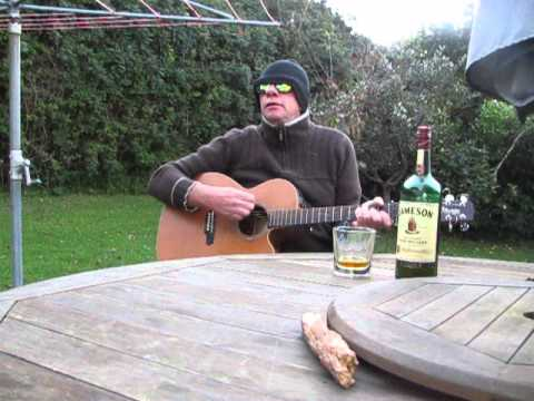Irishman Captain Jameson sings