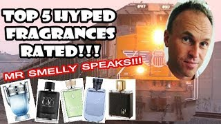 Top 5 Hyped Fragrances Reviewed - with Fragrance Samples UK