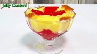 How To Make Jelly Custard Recipe | जेल्ली कस्टर्ड बनाने का तरीका | My Kitchen My Dish