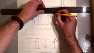 Victorian House (Part 8) Finishing window Frames.MOV