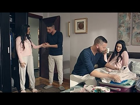 أبو العرسة 2 - طارق بيحضر لزينة شنطة السفر عشان مش عاوز يتعبها 😍.. هو في كدة ♥️