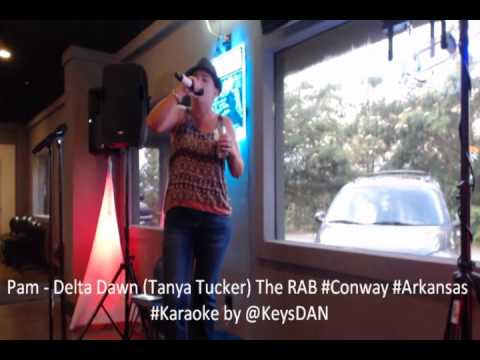 Pam   Delta Dawn Tanya Tucker The RAB #Conway #Arkansas #Karaoke By @KeysDAN