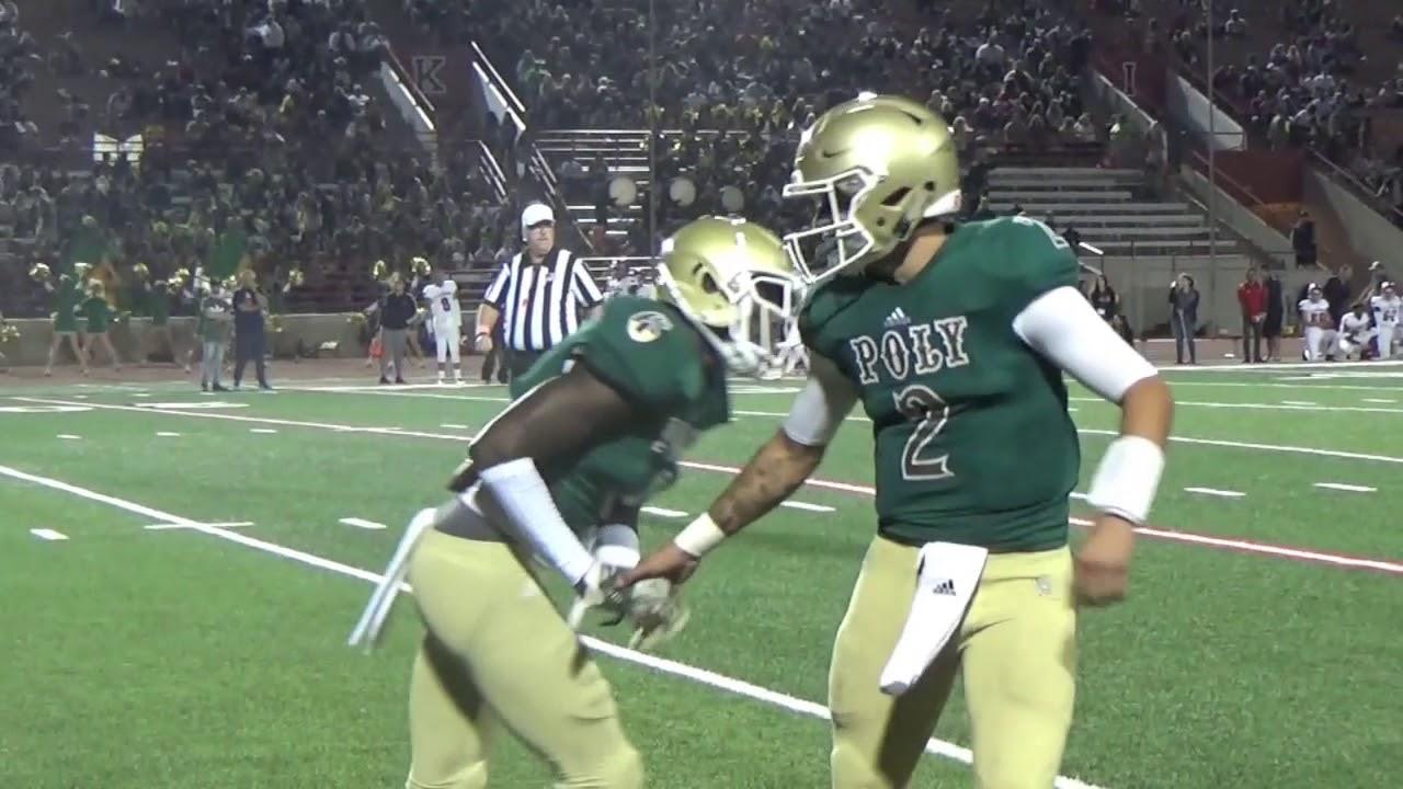 High School Football Long Beach Poly Vs Lakewood Youtube