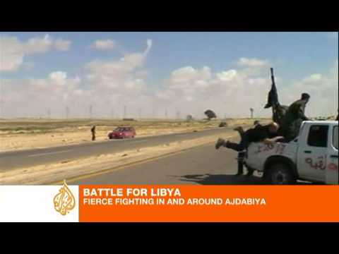 Libya's rebels under fire