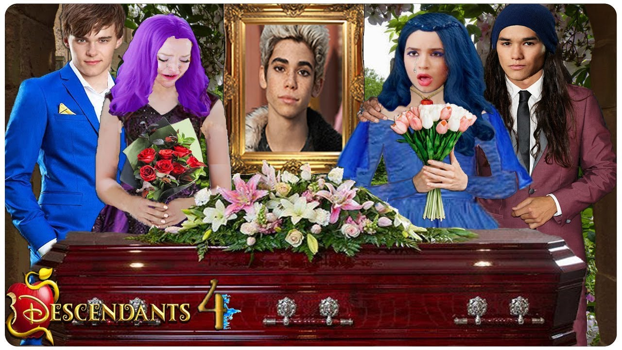 Descendants 4 Carlos Funeral Everything We Know Youtube