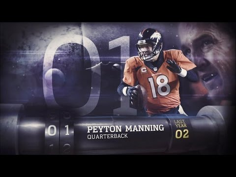 #1 Peyton Manning  Top 100 Players of 2014