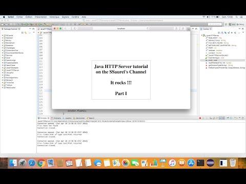Create a simple HTTP Web Server in Java - Sylvain Saurel