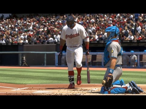 MLB The Show 17 - Akron RubberDucks vs Cleveland Indians | Gameplay (PS4 Pro HD) [1080p60FPS]