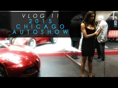 VLOG 11: Chicago Autoshow Part 1