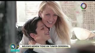 INTERNARON DE URGENCIA  AL HIJO DEL EX PRESIDENTE MENEM Y CECILIA BOLOCCO POR UN TUMOR CEREBRAL