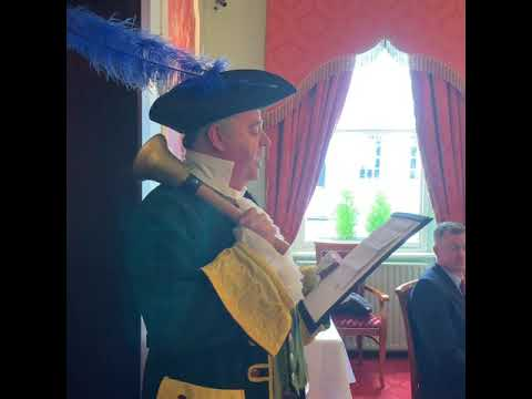 The Tralee Town Crier makes his debut proclamation