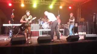 THE ROUGH KUTZ - Noise In This World - RIVERSIDE STOMP - Mainz Kastell - 08-06-2013 part3