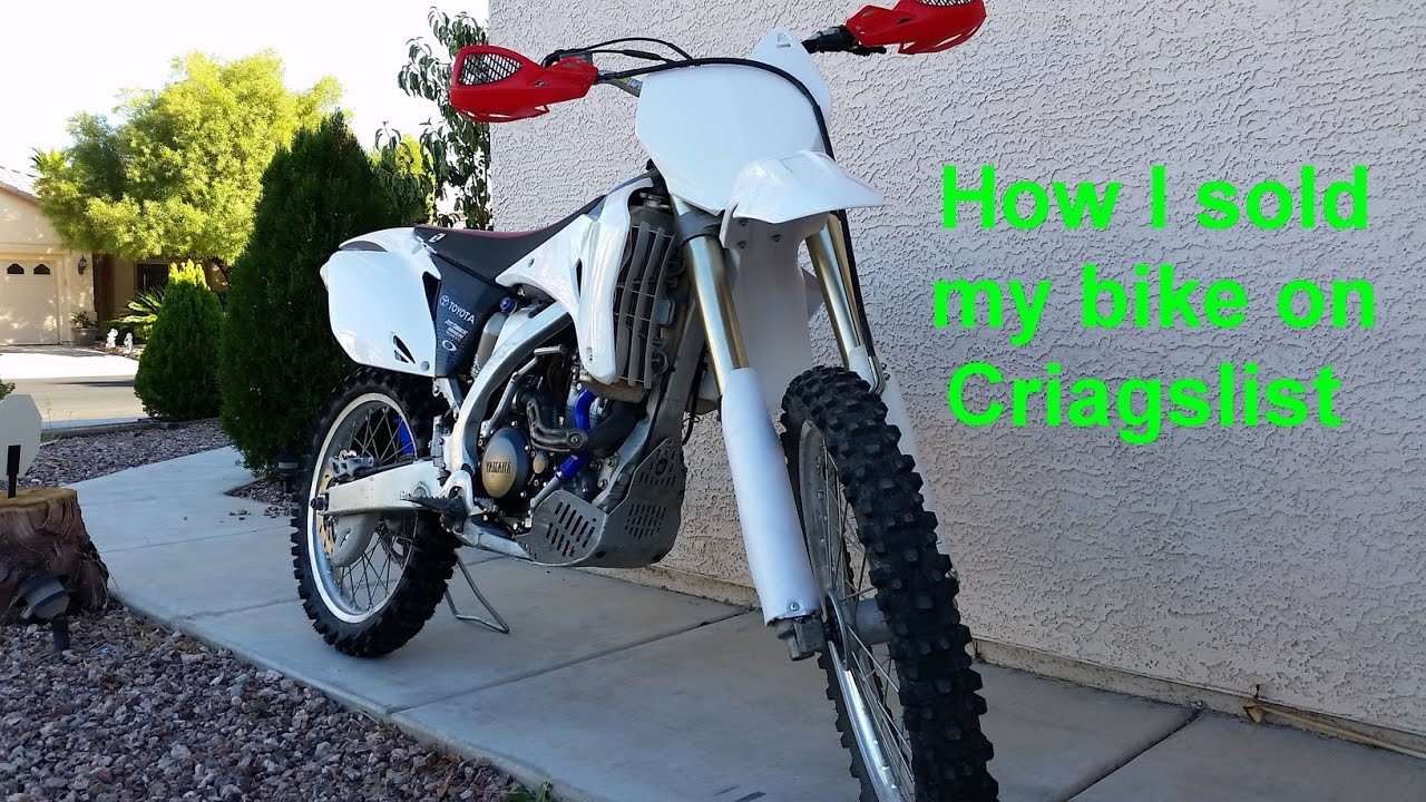 How to sell a Dirt Bike on Craigslist