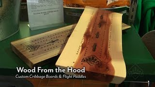Wood From The Hood Custom Cribbage Boards & Flight Paddles
