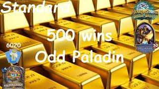 Hearthstone: Odd Paladin Post-Nerf #17: Witchwood (Bosque das Bruxas) - Standard *500 wins*