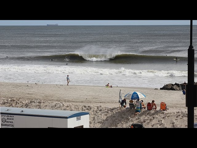 Long Beach NY Surfing Hurricane Hermine