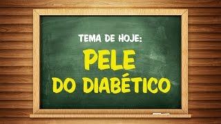 Diabetes a descoloração da pele devido