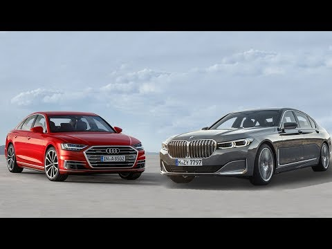 2020 BMW 750i xDrive vs 2019 Audi A8 55 TFSI