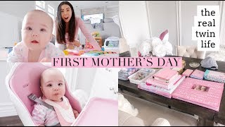 THE REAL TWIN LIFE! MY FIRST MOTHERS DAY!👼🏻👼🏻 SLMissGlamVlogs