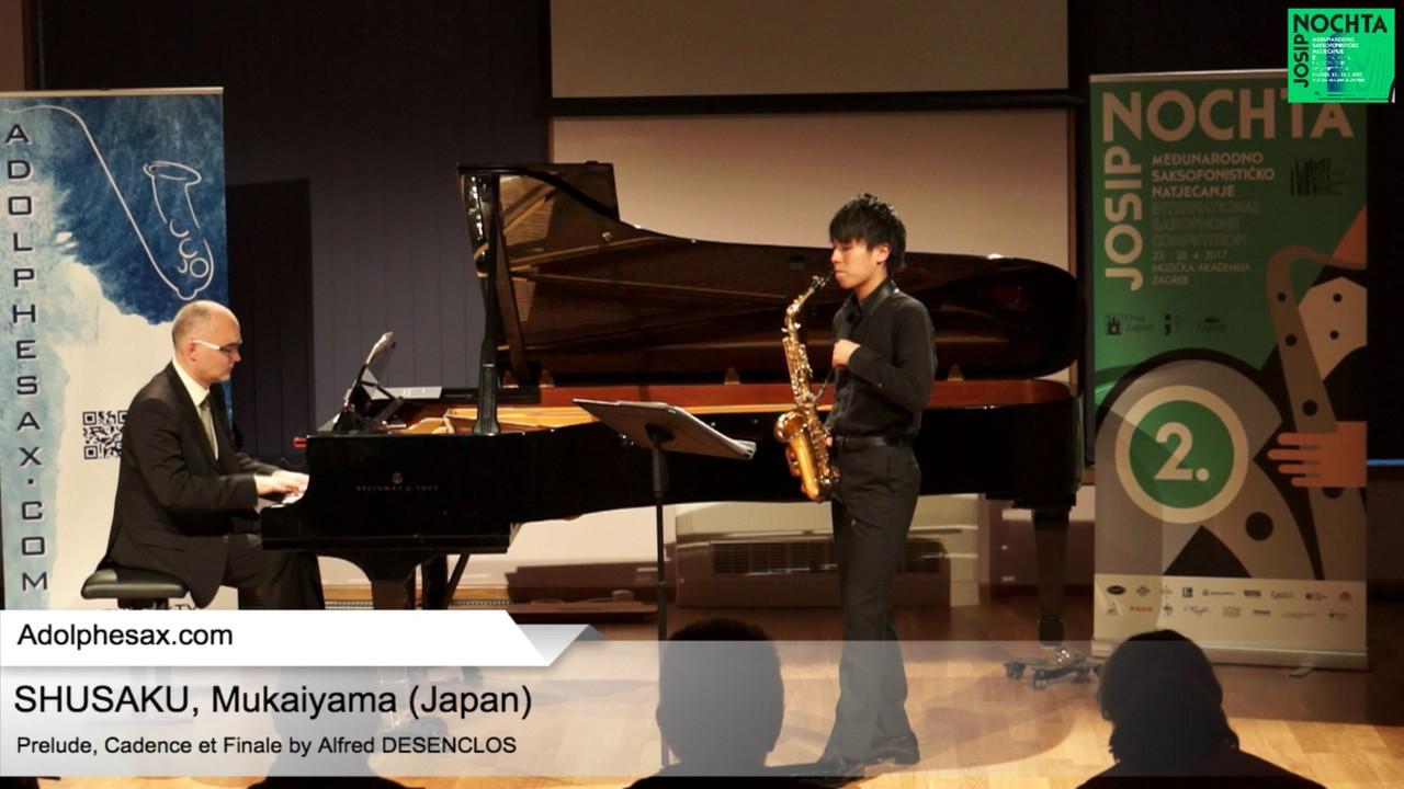 Prelude, Cadence et Finale by Alfred Desenclos –  SHUSAKU, Mukaiyama (Japan)