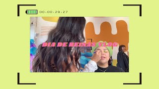 VLOGING FOR THE FIRST TIME AT WORK & THIS IS WHAT HAPPENED | DIA DE REINAS BTS
