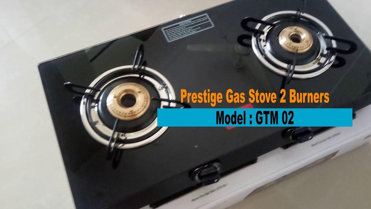 faa011cd5 Unboxing Prestige Gas Stove 2 Burners Model GTM 02 - YouTube