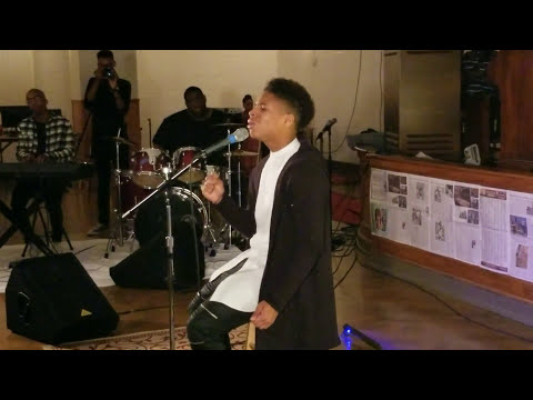 15yr old Caleb Carroll sings Cover
