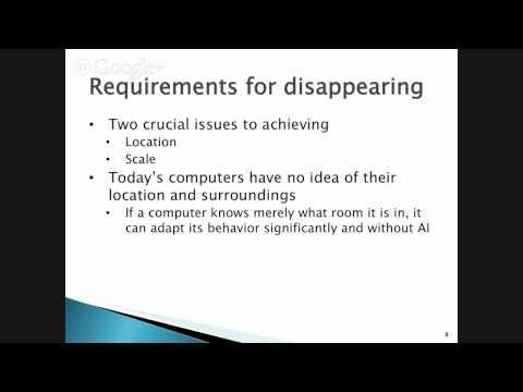 Lecture 2 Ubiquitous Computing
