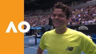 Milos Raonic on-court interview (4R) | Australian Open 2020