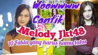 Inilah 10 Fakta Tentang Melody JKT48 Member Jkt48 Yang Cantik Dan Imoet