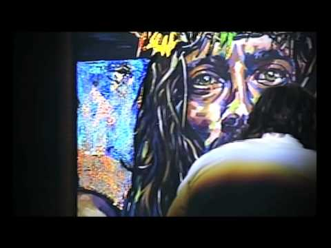 Jesus Painting Brought To Life At The Vineyard Community Church