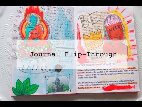 Journal Flip-Through | Art Journal | Creative Journal |