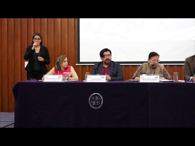 Discurso de la Presidenta de la CDHCDMX en conversartorio participación