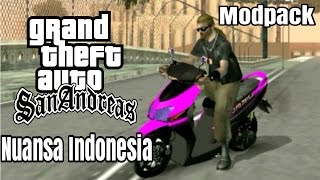 SERBA INDONESIA !! / GTA: San Andreas Android Modpack Nuansa Indonesia