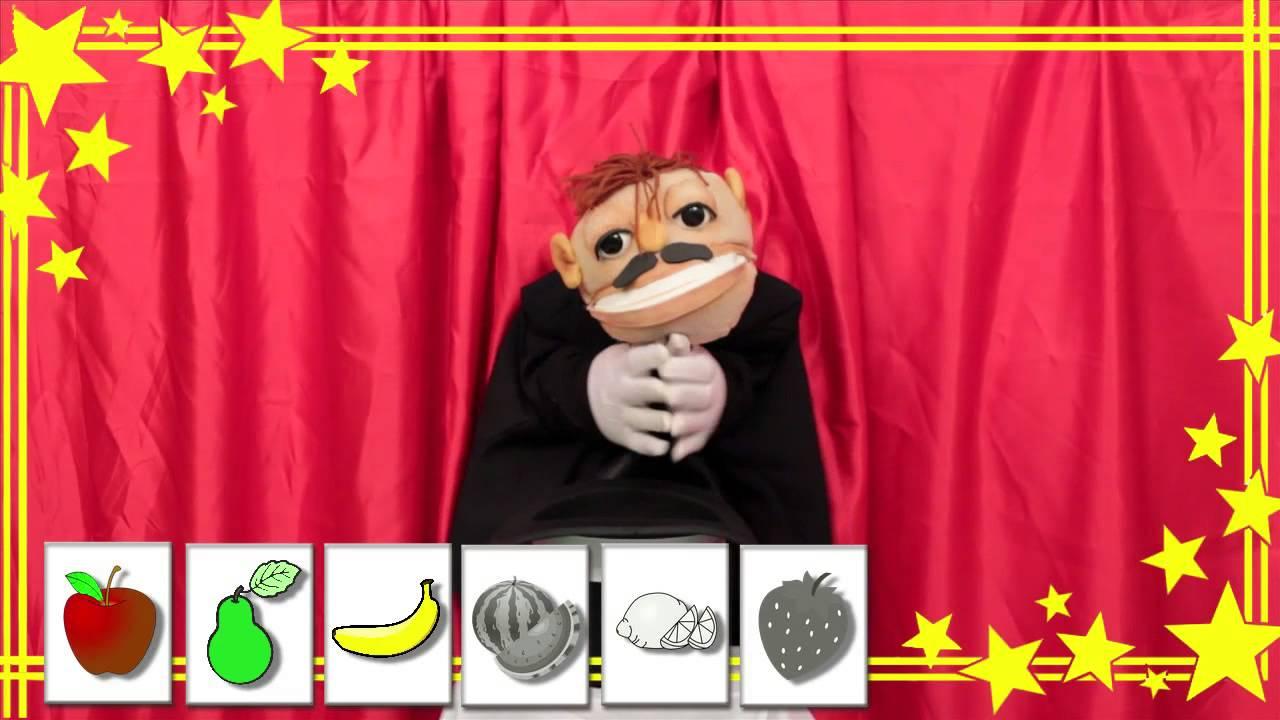 ✫Las Frutas para Niños ✫ Aprende y divierte - Videos para niños - El Mago TaTa-TaTa #