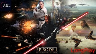PS1 - Star Wars: Episode I - The Phantom Menace - LongPlay [4K]