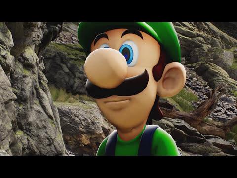 Unreal Engine 4 -  Kite Demo / Luigi Cutscene Animation [ NOT SFM ]
