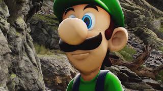 Unreal Engine 4 [4.10.0] Kite Demo / Luigi thinks : the kite is Mario