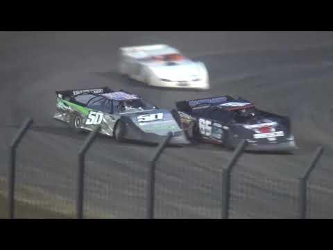 IMCA Late Model Heat 2 Davenport Speedway 9/21/18