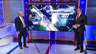 NHL Now:  Elias Pettersson skating:  The power skating moves of Elias Pettersson  Jan 17,  2019