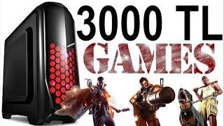 3000 TL Bütçe ile Oyun Bilgisayarı Toplama Tavsiyesi