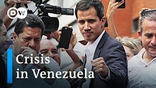 Why Venezuela doesn't arrest Juan Guaidó | DW News