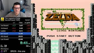 *NEW WORLD RECORD* (42:11) The Legend of Zelda - Second Quest 100%