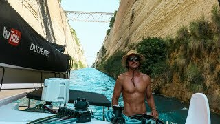 Our Journey through the Famous Corinth Canal! (Sailing La Vagabonde) Ep. 118
