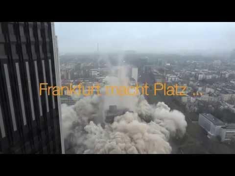 Frankfurt macht Platz